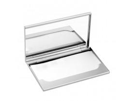 Porta Cartão em Alumínio com espelho