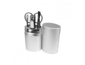 Kit Manicure Em Aço / Alumínio - 5 Pçs