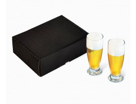 Jogo de 2 copos para cerveja 200 ml