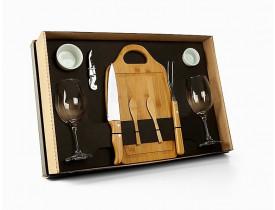 Kit Churrasco, petisco e vinho - 10 Pçs